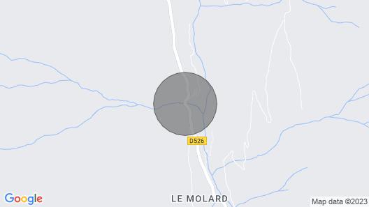 ALLEMONT CHALET OLLE 72 m2 Oisans Vaujany Alpe d'Huez 8 or 16 couchag Map