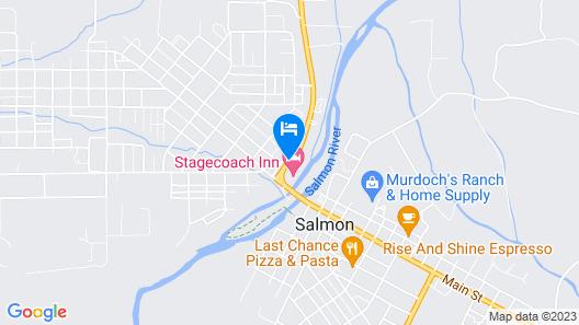 Stagecoach Inn Map