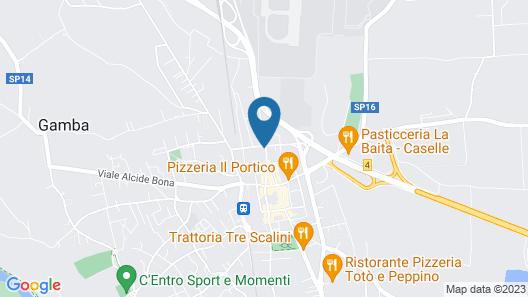 Hotel Aurelia Map