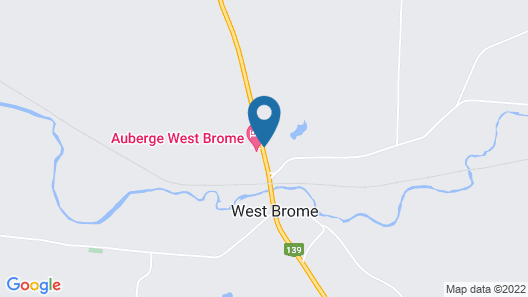 Auberge West Brome Map