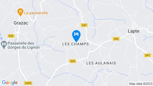 La Clé des Champs Map