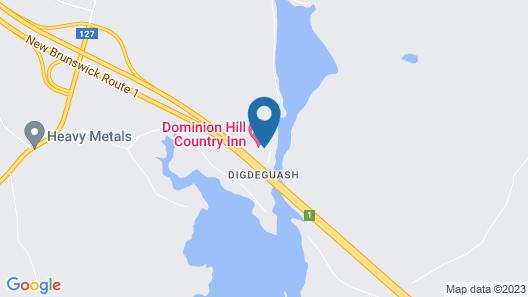 Dominion Hill Country Inn Map