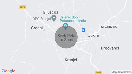 Vacation Home Luna Rossa in Sveti Petar u Šumi - 8 Persons, 4 Bedrooms Map