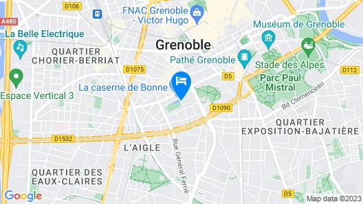 Residhome Caserne de Bonne Map