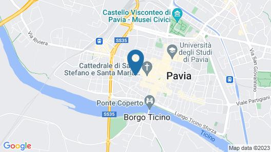 Mood - Residenza Teodolinda Map