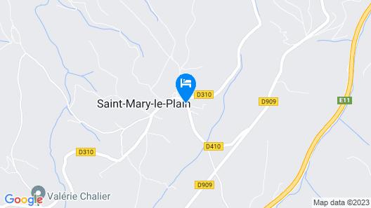 La Maison des Chats Map