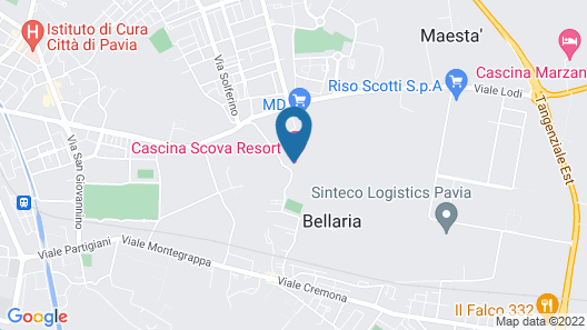 Cascina Scova Resort Map