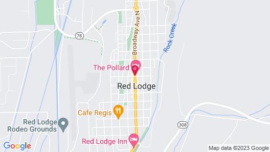The Pollard Hotel Map