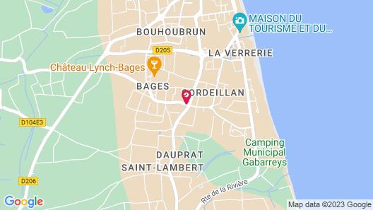 Château Cordeillan-Bages Map