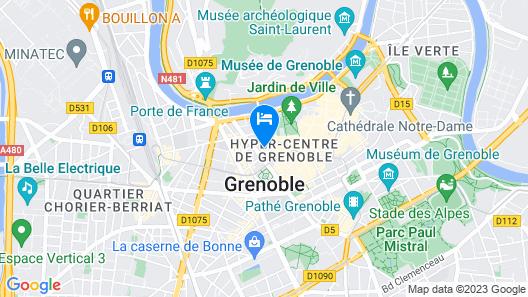 Residhotel Grenette Map