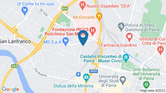 Guest House Maiocchi Map