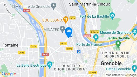 Séjours & Affaires Marie-Curie Map