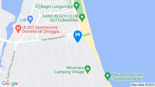 Hotel Europeo Map