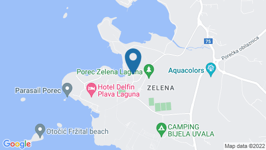 Hotel Istra Plava Laguna Map