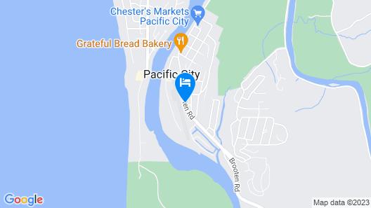 Pacific City Inn Map