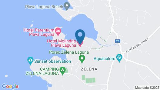 Hotel Molindrio Plava Laguna Map