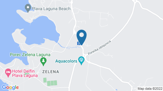 Aparthotel Adeo Map