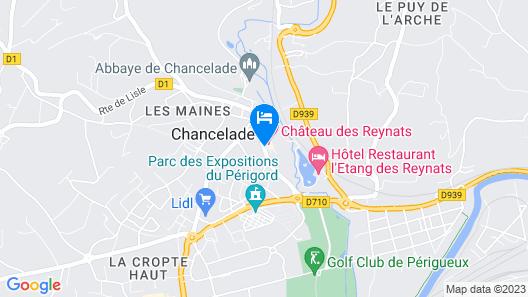 Chateau des Reynats Map