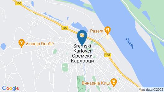Premier Prezident Garni Hotel and Spa Map