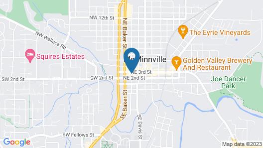 3rd Street Flats Map