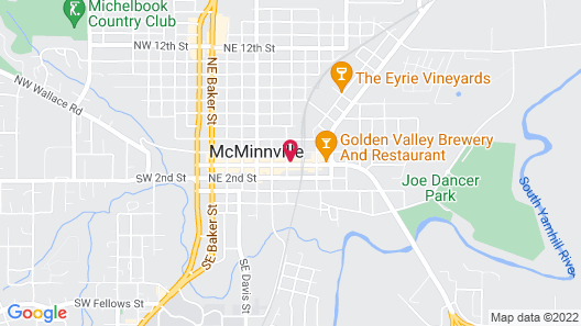 Douglas on Third Map