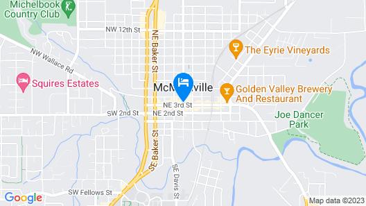 McMenamins Hotel Oregon Map