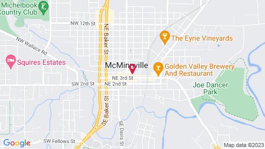 Atticus Hotel Map