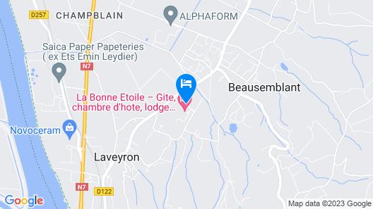 Domaine La Bonne Etoile Map