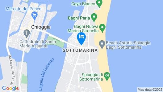 Hotel Ragno D'Oro Map