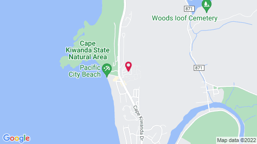 Hart's Camp Airstream Hotel & RV Park Map