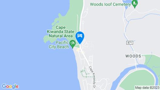 Inn at Cape Kiwanda Map