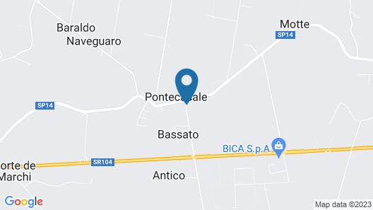 Casa Sansovino Map