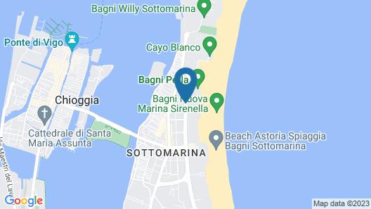 Hotel Metropol Map