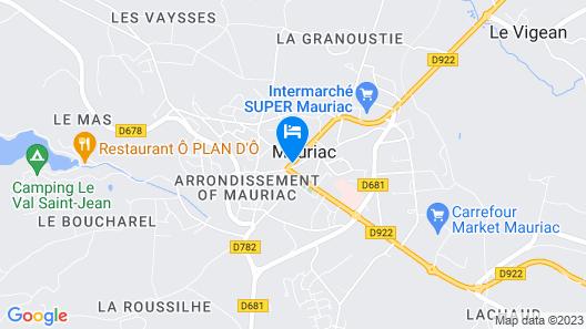 Hotel Ecu de France Map