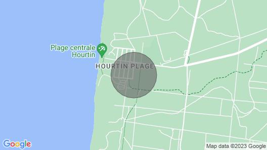 Villa Bikini à 300 m de L'océan Map