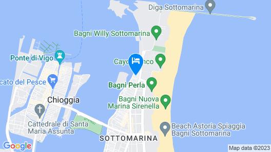 Residence Eleonora Map