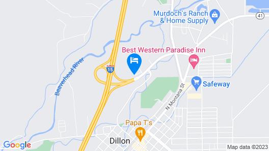 FairBridge Inn Express Map