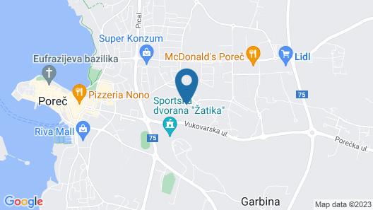 Apartment Rupec Map
