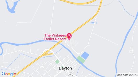 The Vintages Trailer Resort Map