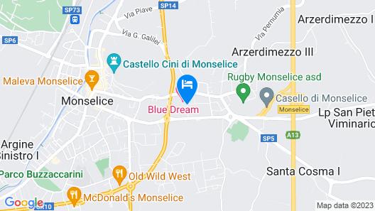 Blue Dream Hotel Map