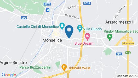 Venetian Hostel Map