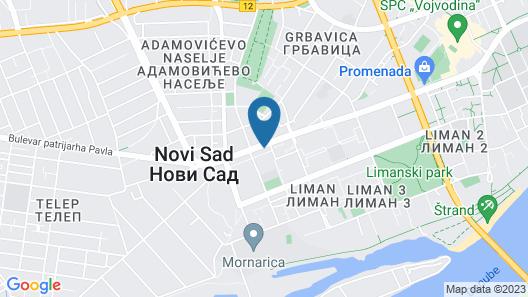 Garni Hotel Aleksandar Map