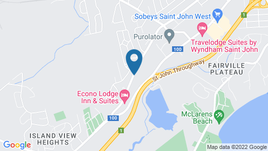 Hillcrest Motel Map