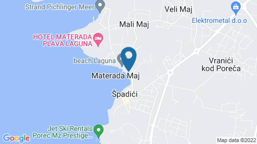 Holiday Home in Pore? 20 m From the Sea, Pets Allowed Map