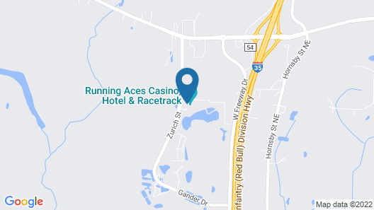 Running Aces Map