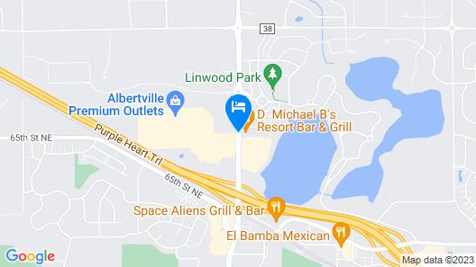 Country Inn & Suites by Radisson, Albertville, MN Map