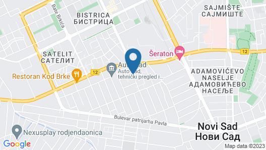 Dash Hotel Map