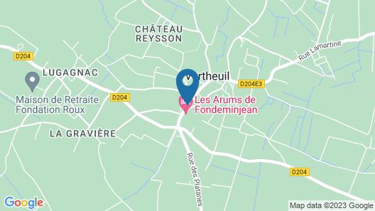 Château Le Souley Map