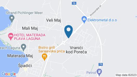 Olea Residence Map