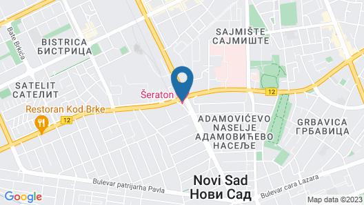 Sheraton Novi Sad Map